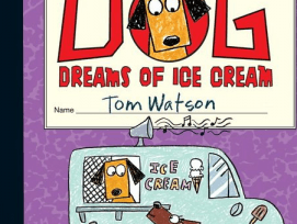 Stick dog dreams of ice cream